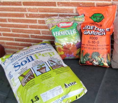 Soil Amendment Ingredients