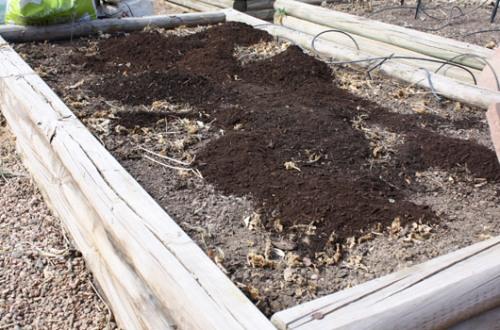 Soil Amendment Step 2