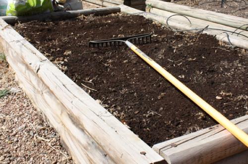 Soil Amendment Step 3