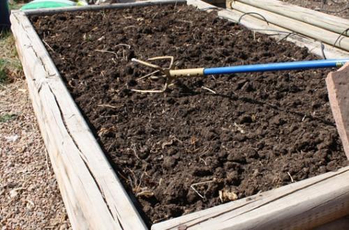 Soil Amendment Step 6