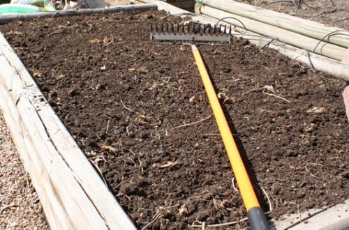 Soil Amendment Step 7